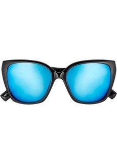Зеркальные солнцезащитные очки (черный) Bonprix