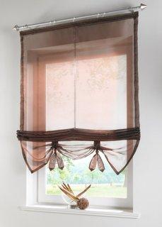 Римская штора, Шина с лентой велкро (коричневый) Bonprix