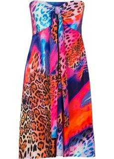 Летнее платье (ярко-розовый с рисунком) Bonprix