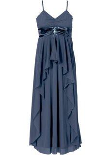 Вечернее макси-платье (темно-синий) Bonprix