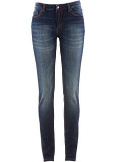 Эластичные джинсы скинни, низкий рост (K) (темно-синий) Bonprix