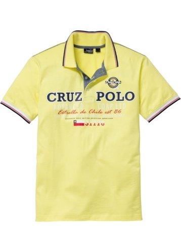 Футболка-поло Regular Fit (нежно-желтый)