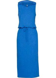 Трикотажное платье (лазурный меланж) Bonprix
