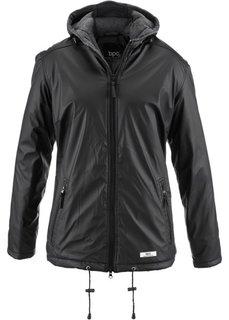 Демисезонная куртка (черный) Bonprix