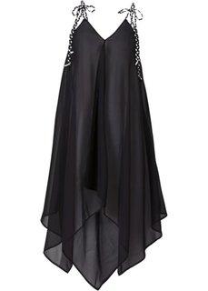 Пляжное платье (черный) Bonprix