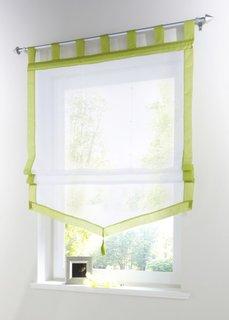 Римская штора Зюльт, Петли (зеленый) Bonprix