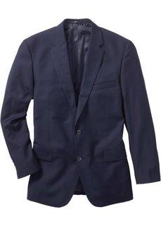 Классический пиджак стандартного прямого кроя regular fit, низкий + высокий рост U + S (темно-синий) Bonprix