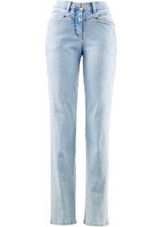Комфортные джинсы стретч, высокий рост (L) (голубой выбеленный) Bonprix