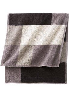 Полотенце Удовольствие (черный/белый/серый) Bonprix