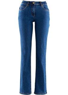 Джинсы стретч Straight, низкий рост (K) (синий) Bonprix
