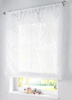 Римская штора Ройя, кулиска (белый) Bonprix