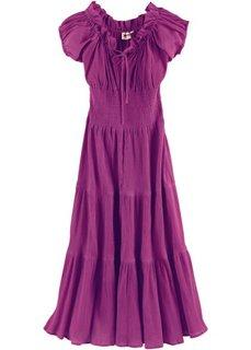 Летнее платье (темный цвет фуксии) Bonprix