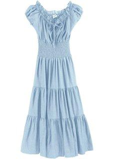 Летнее платье (нежно-голубой выбеленный) Bonprix