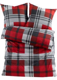 Постельное белье Курт, фланель (красный) Bonprix