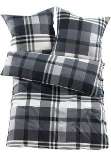 Постельное белье Курт, линон (черный) Bonprix