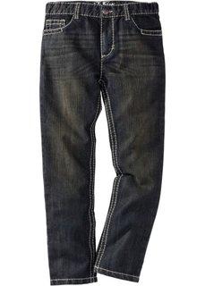 Джинсы Slim Fit, стандартный (черный «потертый») Bonprix