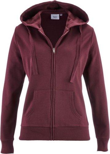 Трикотажная куртка (кленово-красный)