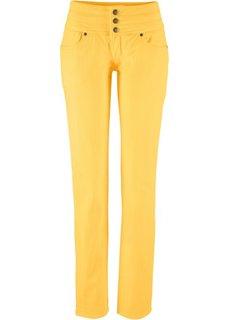 Джинсы, низкий рост (K) (желтый) Bonprix