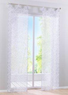 Японская штора Вивьен (1 шт.), петли (серый/белый) Bonprix