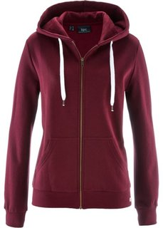Трикотажная куртка (кленово-красный) Bonprix