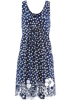 Платье (темно-синий с рисунком) Bonprix