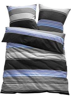 Постельное белье Герри, джерси (синий) Bonprix