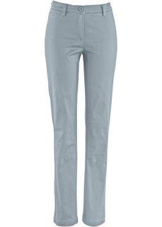 Формирующие брюки в стиле 5 карманов (серебристо-серый) Bonprix