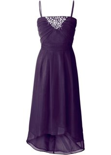 Платье (темно-лиловый) Bonprix