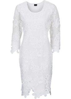 Платье (белый) Bonprix