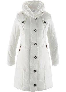 Стеганая куртка (цвет белой шерсти) Bonprix