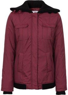 Зимняя куртка (бордовый) Bonprix