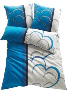Постельное белье Амели, фланель (синий) Bonprix