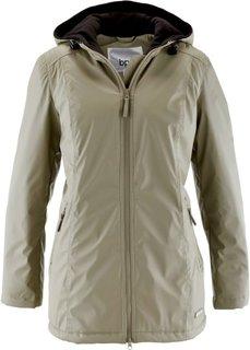 Демисезонная удлиненная куртка (новый хаки) Bonprix