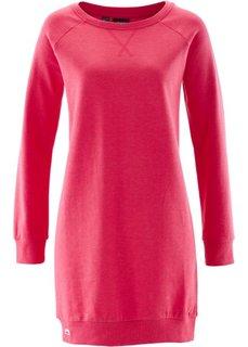 Трикотажное платье (ярко-розовый гибискус) Bonprix