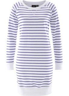 Трикотажное платье (синий/белый) Bonprix