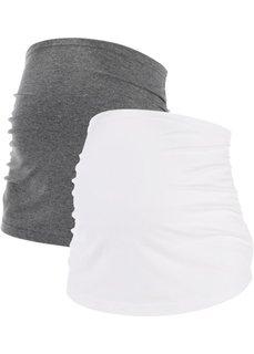 Джинсы Skinny, низкий рост (K) (серый) Bonprix