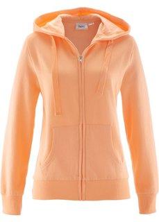 Трикотажная куртка (абрикосовый) Bonprix