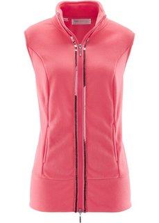 Флисовый жилет (ярко-розовый) Bonprix