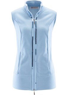 Флисовый жилет (голубой) Bonprix