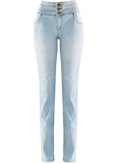 Джинсы, низкий рост (K) (нежно-голубой) Bonprix