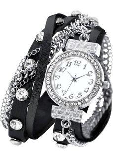Наручные часы-браслеты Майри (черный) Bonprix