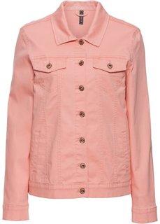 Куртка в стиле бойфренд (нежно-коралловый «потертый») Bonprix
