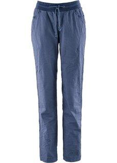 Жатые брюки (индиго) Bonprix