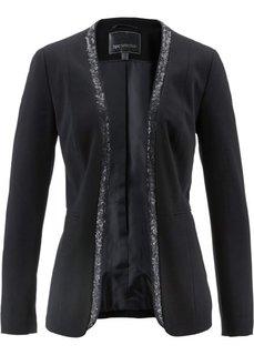 Пиджак с пайетками (черный) Bonprix