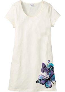 Ночная сорочка (цвет белой шерсти с рисунком) Bonprix