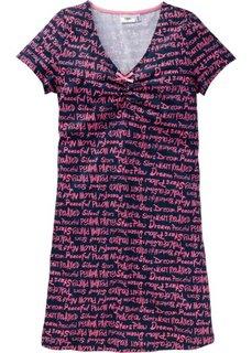 Ночная сорочка (темно-синий с рисунком) Bonprix