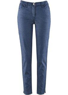 Комфортные узкие эластичные брюки (индиго) Bonprix