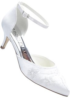 Туфли-лодочки (белый) Bonprix