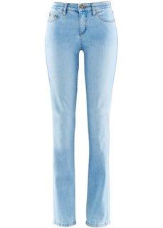 Стройнящие джинсы стретч, низкий рост K (голубой выбеленный) Bonprix