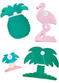 Бумажные гирлянды для праздников (4 шт.) (разные цвета) Bonprix
